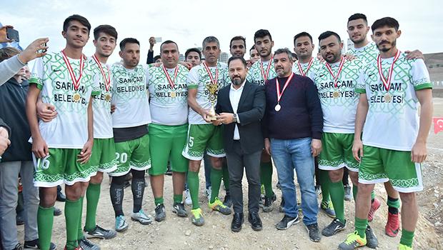 Sarıçam'da Futbol Heyecanı...
