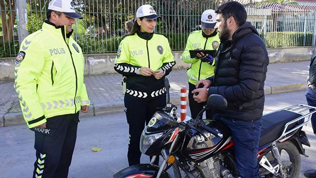 Adana'da motosiklet sürücülerine 164 bin lira ceza