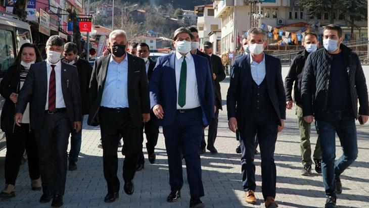 'Türkiye yıkıcı muhalefetin tehdidi altında'
