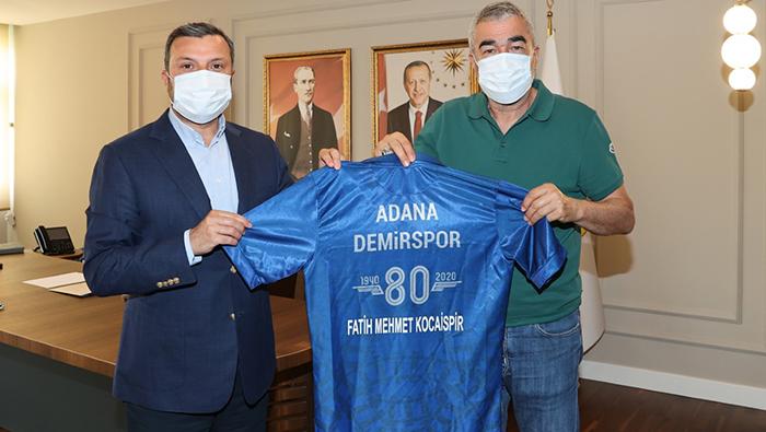 Aybaba'dan Kocaispir'e teşekkür ziyareti...