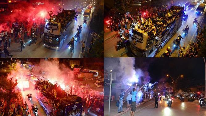 Adana dün gece uyumadı. Kent sevinçten adeta yıkıldı...