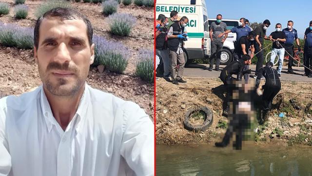 'Ölümü hak ettim' notu bırakıp kayıplara karışan adamın cesedi su kanalından çıktı