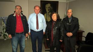 Vatan Partisi'nden ÇGC'ye ziyaret
