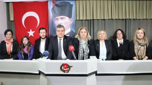 """CHP'li kadınlardan sert tepki; """"Kınıyoruz!"""""""