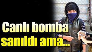 Canlı Bomba Sanılan Suriyeli Kız, Kaçırılmayı Bekliyormuş...