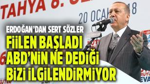 Erdoğan: 'ABD bizi hiç ilgilendirmiyor'