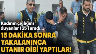 Kapkaçcılar 15 Dakikada Yakalandı...