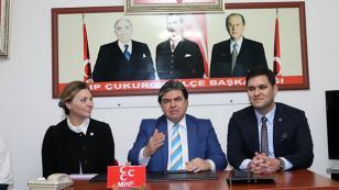"""MHP'li Avcı, """"Adana işsizlik sorununun baskısı altında"""""""