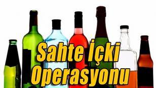 Adana'da 1750 litre sahte içki ele geçirildi