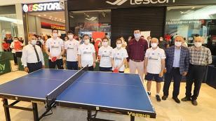 M1 Adana'da masa tenisi heyecanı