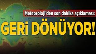 Meteoroloji duyurdu...