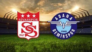 Sivasspor 1-1 Adana Demirspor