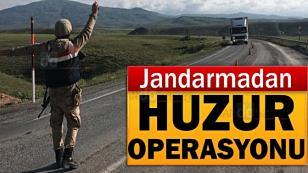 Jandarma 7/24 görevinin başında!