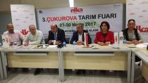 Adana'da 3'üncü Çukurova Tarım Fuarı yarın açılıyor!