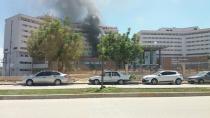 Adana Şehir hastanesi'nde korkutan yangın