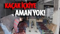 Adana'da 2,5 ton sahte içki elegeçirildi...