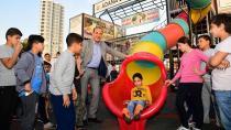 Sözlü'den Tunceli polis lojmanlarına oyun parkı