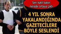 94 Yıl Hapis Cezası Olan Seri Katil Adana'da Yakalandı