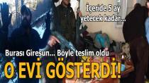 PKK'lı teröristin sığındığı yayla evi tespit edildi