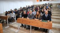 ÇÜ'de Eğitimlerini Tamamlayan Öğrenciler Sertifikalarını Aldı