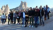 ÇÜ'nün Öğrencileri Kapadokya'yı Ziyaret Etti