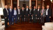 Sözlü, TSYD Adana Şubesi'nin yeni yönetimini konuk etti