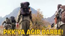 TSK, PKK'yı vurdu... Çok sayıda terörist öldürüldü