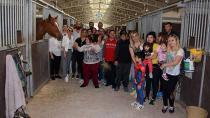 Down sendromlu çocuklar Adana'da ağırlandı