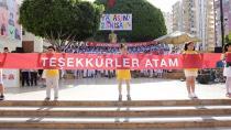 Atatürk'ün çocukları Gündoğdu'da!