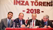 Büyükşehir Belediyesi işçileri Toplu İş Sözleşmesi ile bayram etti