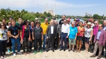 Allgaeu Orient Dostluk ve Barış Rallicileri Adana'da