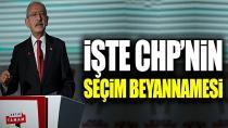 CHP Seçim Beyannamesini Açıkladı! Öncelik Memur, Çiftçi, Emekli ve Öğrencilerde