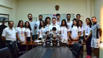 TOHM Kürek sporcuları Genç Kızlarda Türkiye Şampiyonu Oldular