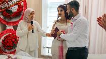 Bayan Demirtaş, nikah şahitliği yaptı...