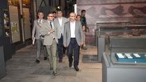 Vali Demirtaş, ''Mozaik Müzesi''nde İncelemelerde Bulundu