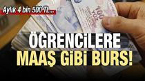 Doktora Öğrencilerine 4 Bin 500 Lira Burs