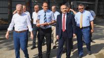 Vali Demirtaş, yapılması planlanan Seyhan Kaymakamlık binasını inceledi