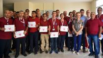 Balcalı'nın başarılı personeline sertifika