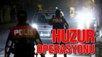 Adana'da Hava Destekli ''Huzur ve Güven'' Uygulaması