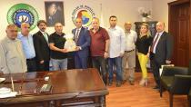 9 Ticaret Odası Başkanı CTB'yi ziyaret etti…