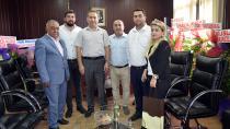 CTB Yönetimi'nden Kaymakam Yılmaz'a 'Hoş Geldin' Ziyareti