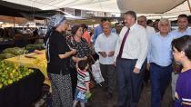 Ceyhan'a yeni semt pazarı açıldı