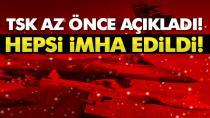 PKK'nın lider kadrosundan 3 terörist öldürüldü