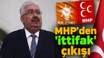 MHP'den AK Parti'ye Cumhur İttifakı resti