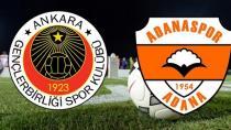 Adanaspor kimsenin yapamadığını yaptı: 0-0