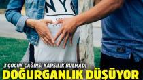 Türkiye'de  doğurganlık hız kesti...