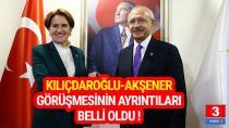 Kılıçdaroğlu-Akşener 13-14 Büyükşehir için anlaştı mı?