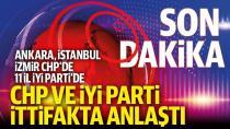 CHP ile İYİ Parti Yerel Seçimler İçin Uzlaşma Sağladı!