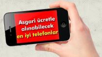 Asgari ücretle alınabilecek en iyi akıllı telefonlar