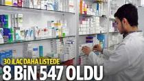 SGK 30 ilacı daha ödeme listesine aldı